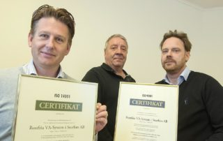Rostfria VA System ISO