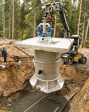 Pumpsump från Rostfria VA System