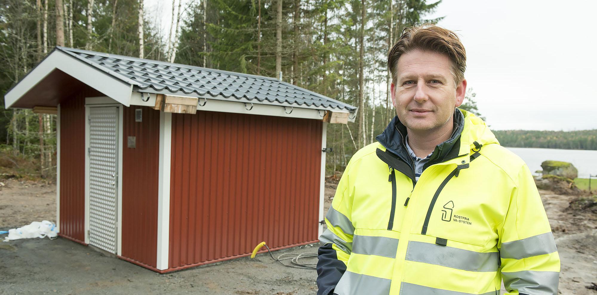 Jonas Björkström vd Rostfria VA-System