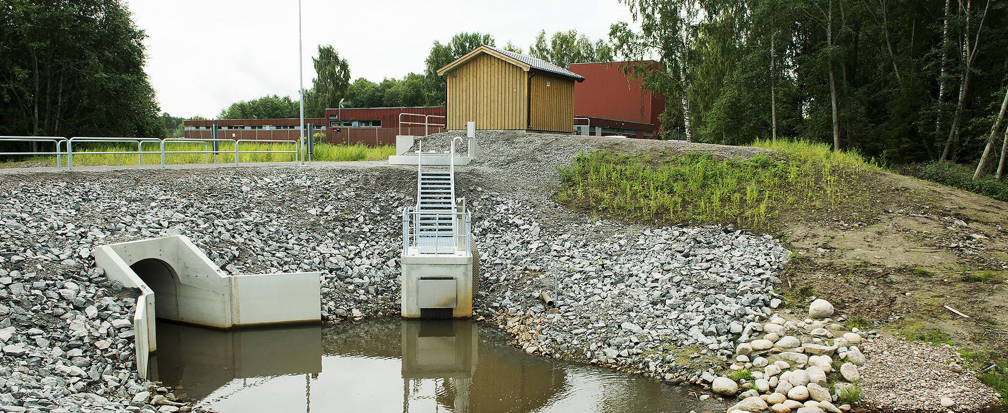 Pumpstation Torpnoret Karlstad
