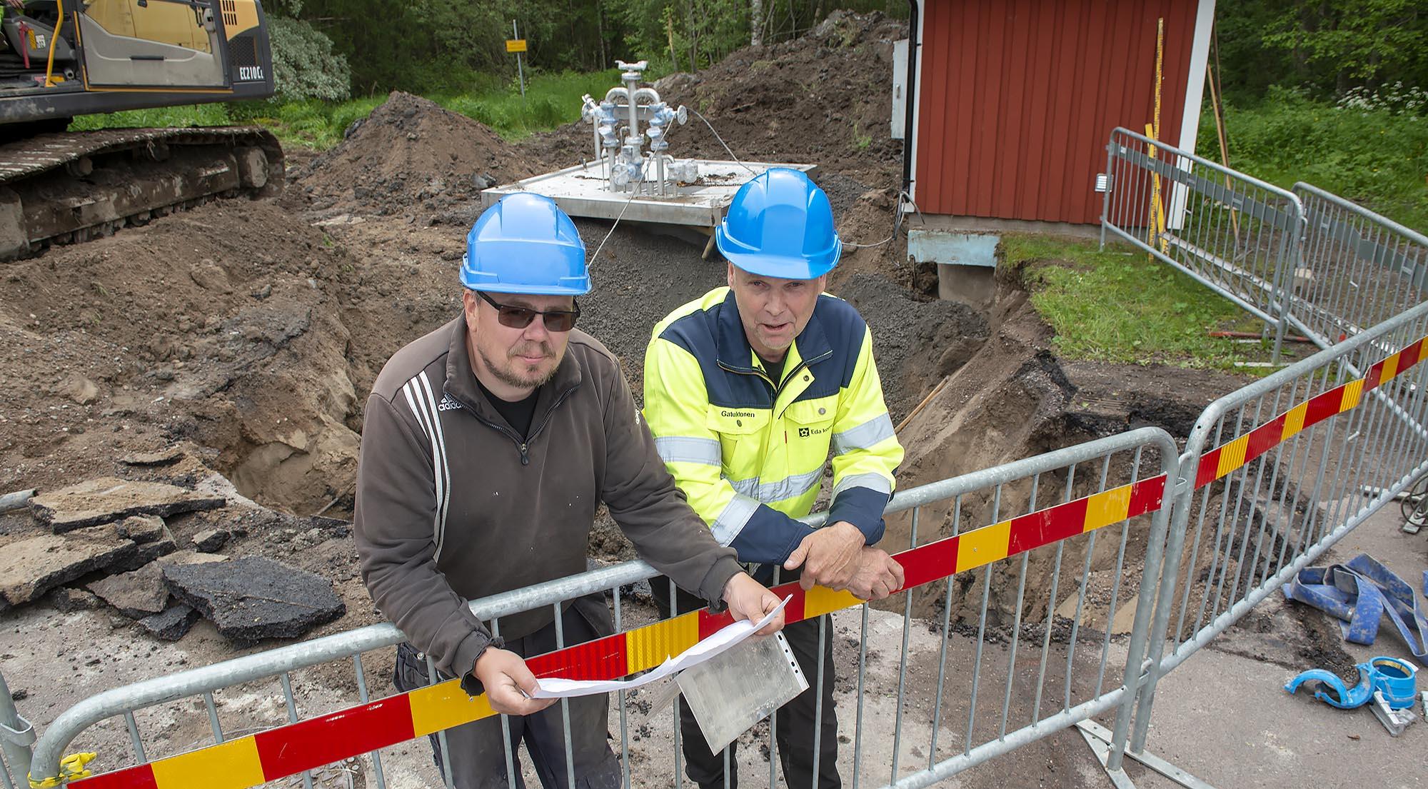 Ny pumpstation från Rostfria