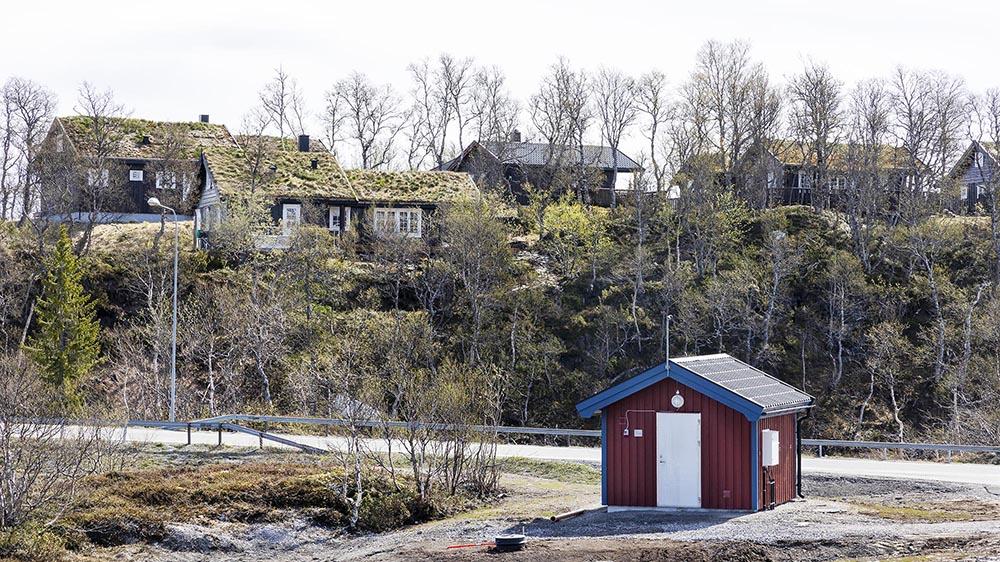 Pumpstation från Rostfria VA System i Storlien